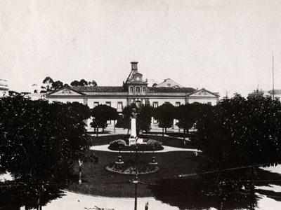 Historische Aufnahme aus dem Jahre 1914 von Brasilien