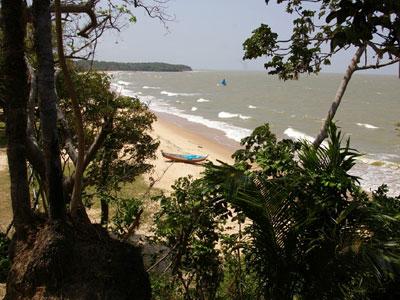 Bild vom Strand der Insel Marajo in Brasilien
