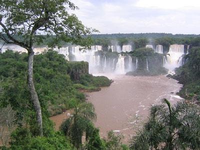 Foto der Wasserfälle Iguazu