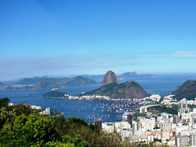 Bild des Zuckerhuts in Brasilien